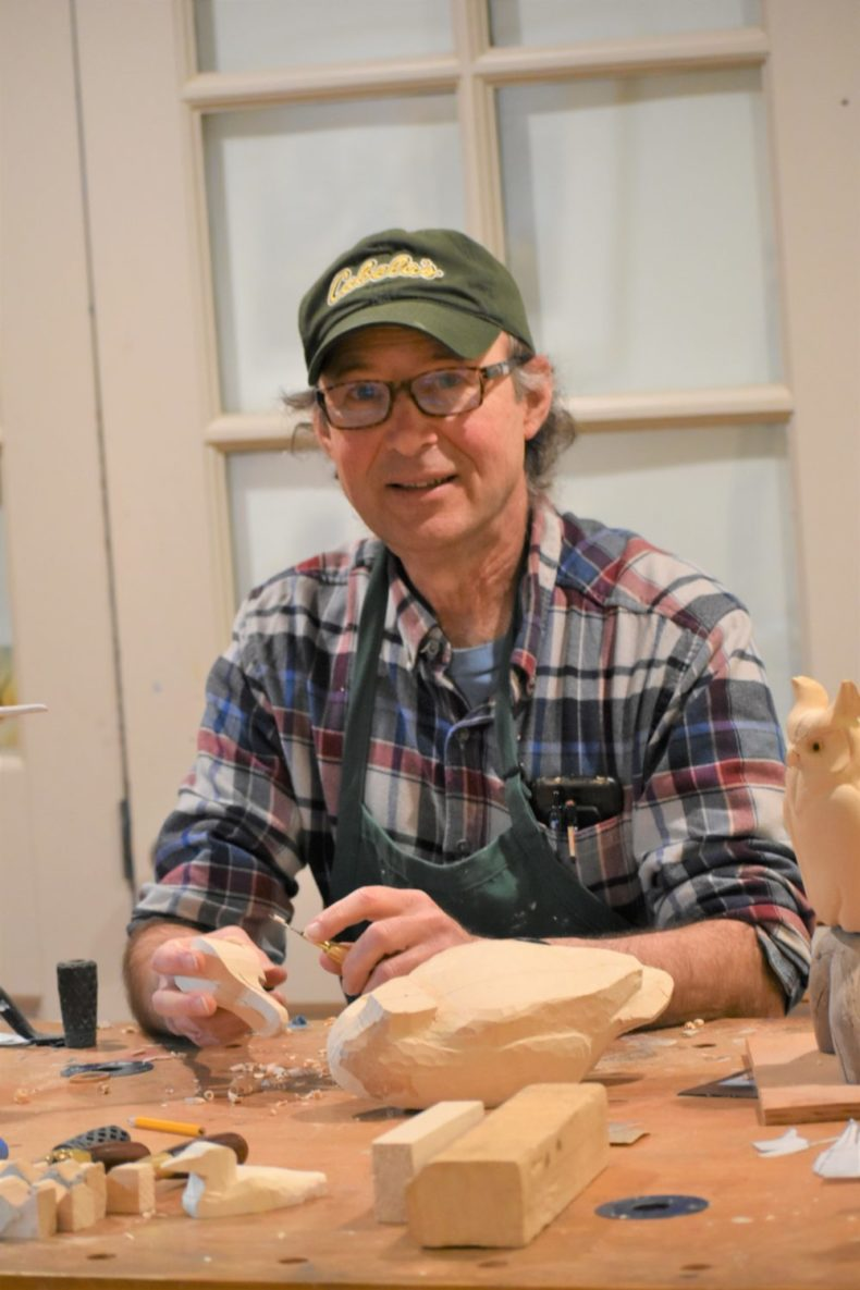 Take a carving class