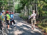 Ranger-led tours let bicyclists to peddle and learn